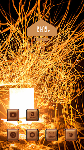 android Invisible flame Screenshot 1