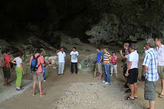 Photo: Liang Bua is a cave where Homo floresiensis were found. Their peculiar size to the land is a call for attention to the world of scientific research, a bridge to discover the past for clues of the future. http://www.indonesia.travel