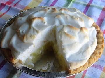 Lemon Meringue Pie with a twist