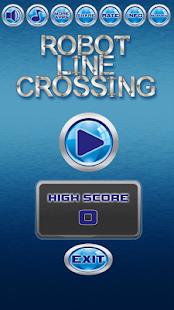 Robot Line Crossing - náhled