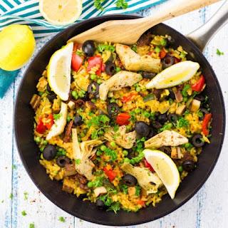 Vegan Paella.