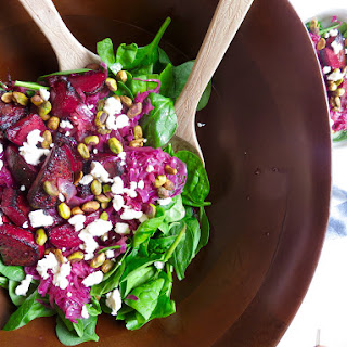 Beet and Cabbage Salad.