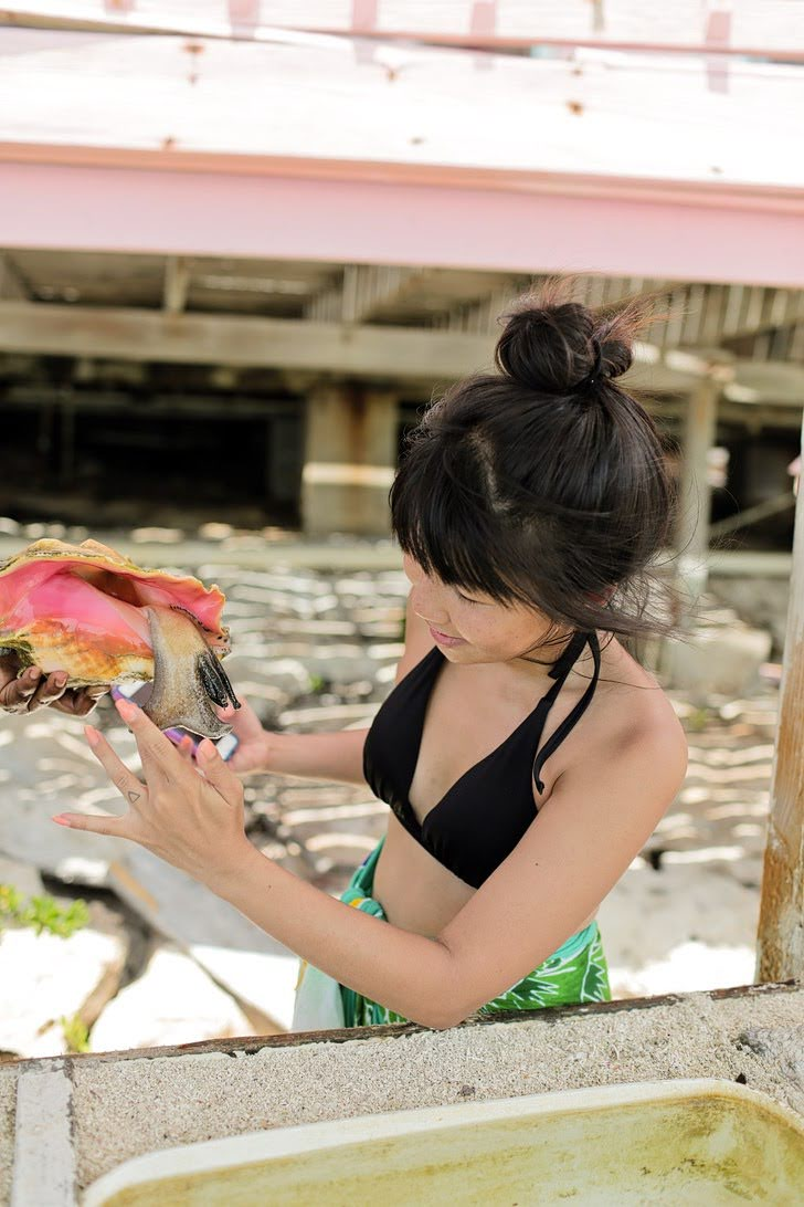 Visiting the Only Conch Farm in the World - Things to Do in Turks and Caicos.