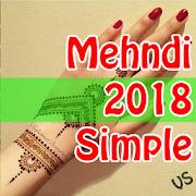 Simple Mehndi Designs 2018