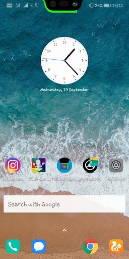 Notch & S10 Battery bar trial - Live wallpaper 6.3 screenshots 1