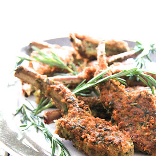 Parmesan and Herb Crusted Lamb Chops
