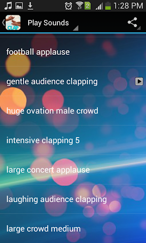 Applause App Screenshot