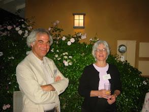 Photo: Professors Mark Machina and Katie Faust