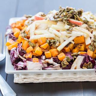Roasted Radicchio and Butternut Squash Salad