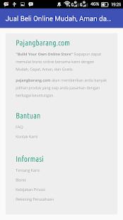 Pajang Barang screenshot