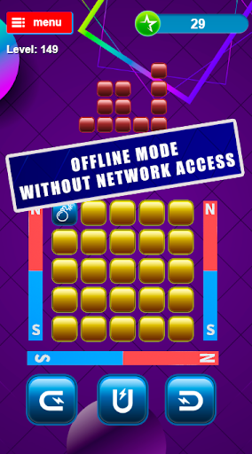 Magnetic blocks, logic puzzles from blocks screenshot 2