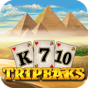 3 Pyramid Tripeaks Solitaire - Ancient Egypt Game icon