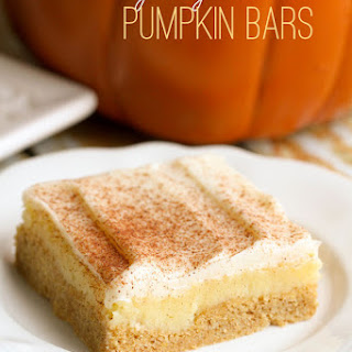 Gooey Butter Pumpkin Bars