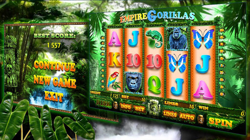 Empire Gorillas Slot - screenshot