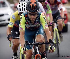 📷 37-jarige Italiaan in Giro met een marge van slechts millimeters ontsnapt aan een ramp