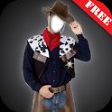 Cowboy Suit Photo Montage icon