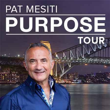 Pat Mesiti Purpose Tour Sydney