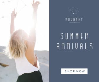 Modwrap Summer Arrivals - Large Rectangle Ad Template