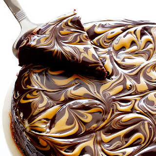 Peanut Butter Flourless Chocolate Cake.