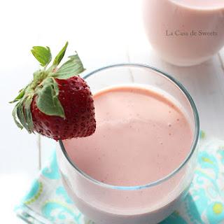 Strawberry-Mango Lassi
