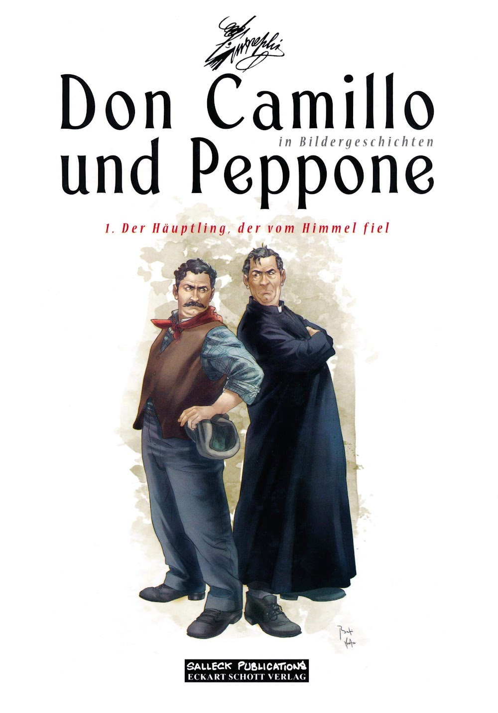Don Camillo und Peppone in Bildergeschichten (2013) - komplett