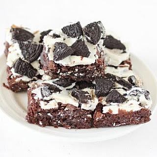 Oreo Brownies.