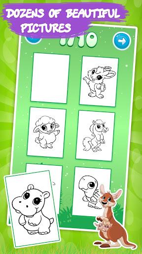 Dessin et Coloriage: animaux  captures d'écran 2