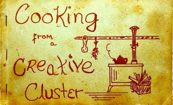 The Cooking From a Creative Cluster,is a soft covered cookbook, published in 1972. Henderson...