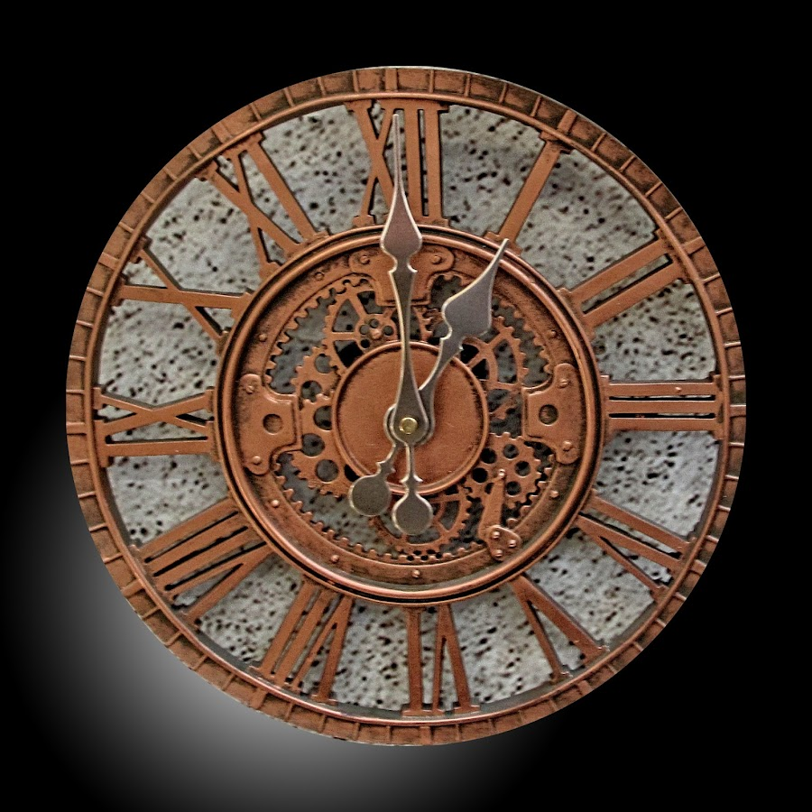 OLI clock 49 by Michael Moore - Artistic Objects Other Objects