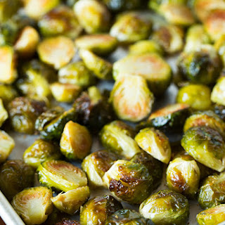 Roasted Garlic Brussels Sprouts Recipe
