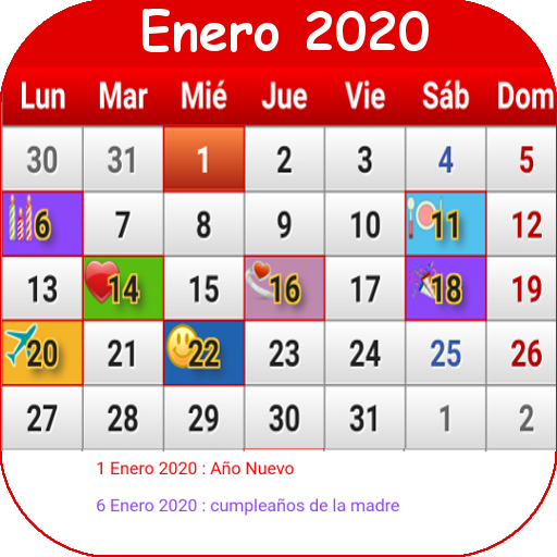 Calendario Chile 2019.Chile Calendario 2019 Apps On Google Play