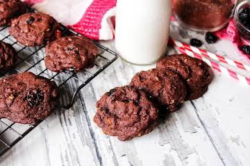 Black Forest Chocolate Chip Cookies