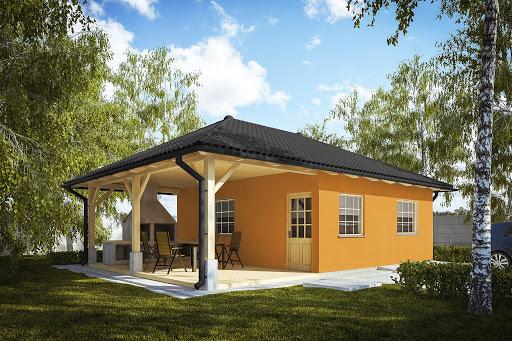 projekt G246 - Budynek rekreacji indywidualnej