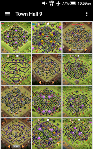 Base design for clash of clans
