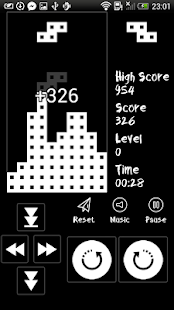 Brick Classic - Black & White - náhled