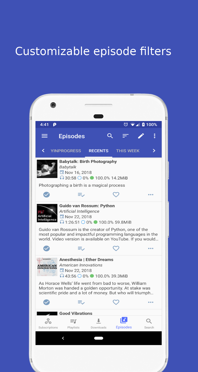 Podcast Republic - Podcasts, Radios and RSS feeds Screenshot 4