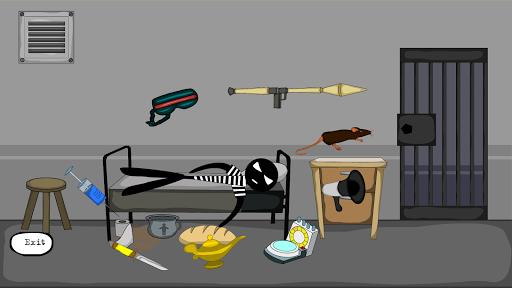 Stickman Jailbreak 3 : Funny Escape Simulation  captures d'écran 1
