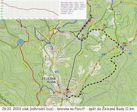 Photo: Už první den jsme zvládli 11 kilometrů