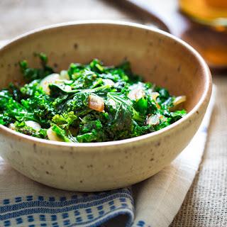 Kale with Cider Vinegar Recipe