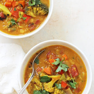Turmeric Quinoa Vegetable Soup Recipe