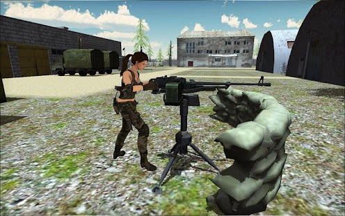 Commando Sarah 2 : Action Game - náhled