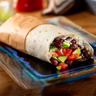 Easy Black Bean Burritos.