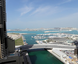 Photo: view from sea side apartment