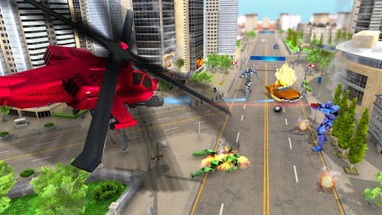 Download Super Horse Robot Transform: Flying Helicopter For PC Windows and Mac apk screenshot 13