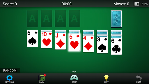 Solitaire!  gameplay | by HackJr.Pw 5