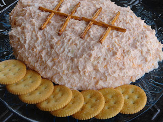 Crabby Football Cheese Spread Recipe