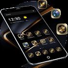 Golden Black Theme for P10 icon