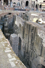 Photo: Under the floor of the Colosseum