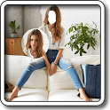 Girls Blue Jeans Editor icon