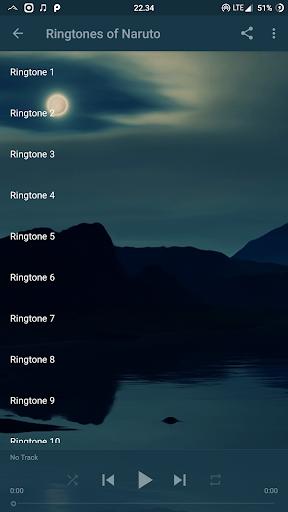 Ringtones of Naruto 1.0 screenshots 4